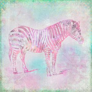 Vintage Animal Color 4 by Lebens Art