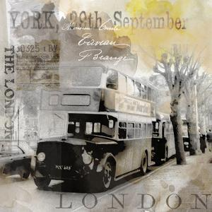Vintage Britain - Square by Lebens Art