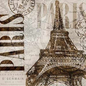 Vintage Paris - Square by Lebens Art
