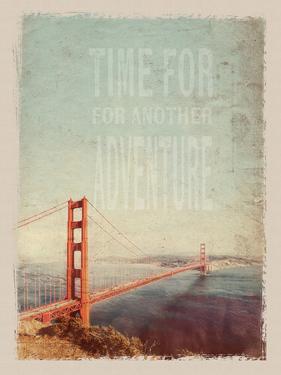 Vintage San Francisco by Lebens Art