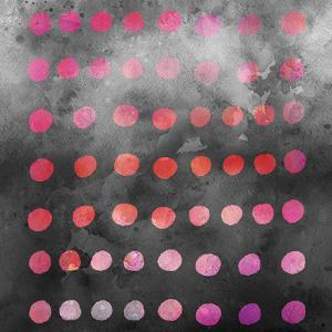 Watercolor Dots - Square by Lebens Art