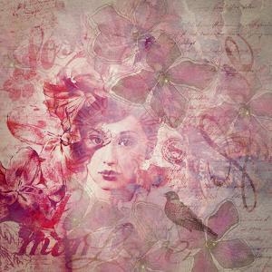 Woman - Square by Lebens Art
