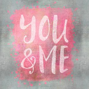 You And Me - Square by Lebens Art