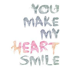 You Make Me Heartbeat 3 - Square by Lebens Art
