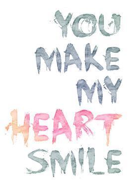 You Make My Heart Smile by Lebens Art