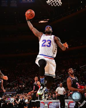 LeBron James 2015 NBA All-Star Game Action