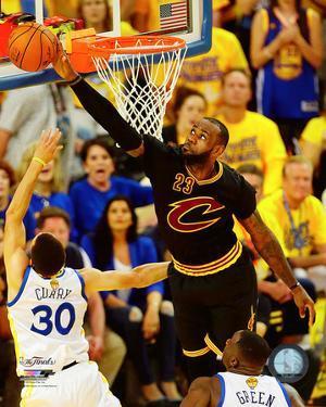 Lebron James block Game 7 of the 2016 NBA Finals
