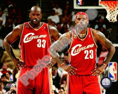 LeBron James & Shaquille O'Neal