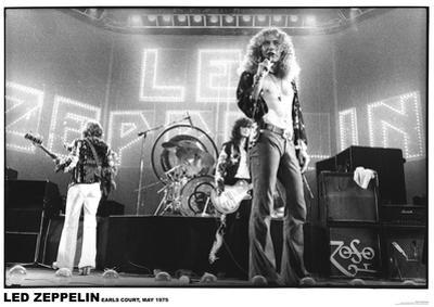 Led Zeppelin- Earls Court 1975