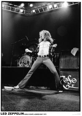 Led Zeppelin - Robert Plant - Earls Court 1975
