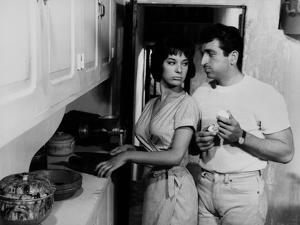 LEDA (aka WEB OF PASSION aka A DOUBLE TOUR) by Claude Chabrol with Bernadette Lafont and Mario Davi