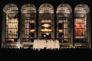 Metropolitan Opera House on Opening Night by Leder