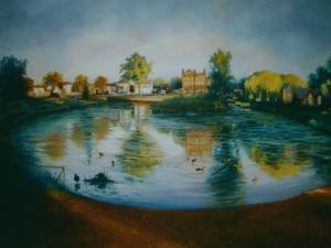 Barnes Pond, 2006 by Lee Campbell
