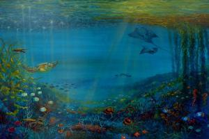 Coral Reef, 2018 by Lee Campbell