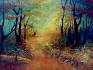 Gardien de la Forêt, by Lee Campbell