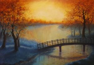 Golden Pond 2012 by Lee Campbell