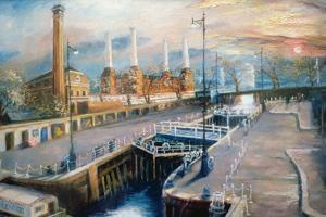 Grosvenor Dock, 1998 by Lee Campbell