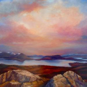 Highland Loch, 2019 by Lee Campbell