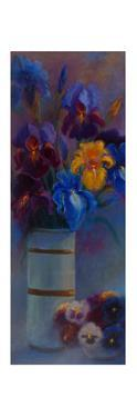 Irises and Pansies, 2018 by Lee Campbell