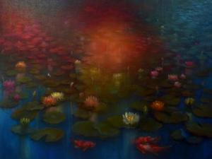 Lily Pond, by Lee Campbell