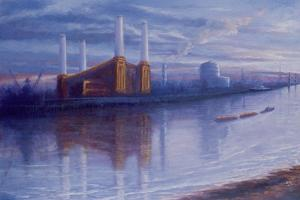 Old Glory, 1999 Battersea Power Station, Thames by Lee Campbell