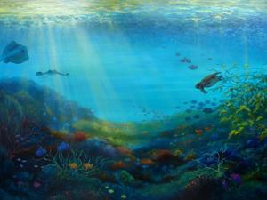 Pacific Reef, 2018 by Lee Campbell