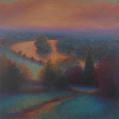 Petersham Autumn; View from Richmond Hill,