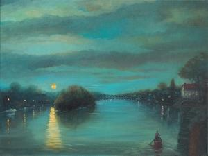 Richmond Dusk, 2017 by Lee Campbell