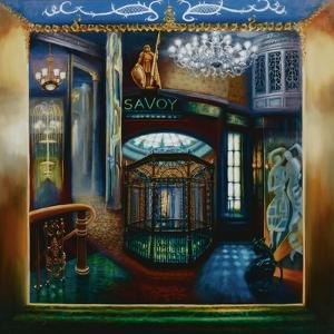 Savoy Hotel, Savoy Interior, Kaspar the Cat, 2010 by Lee Campbell