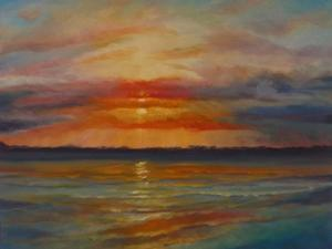 Suset, 2013 Seascape by Lee Campbell