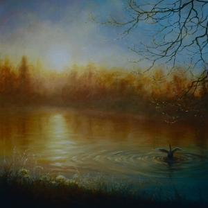 Thames Sunrise, 2004 by Lee Campbell