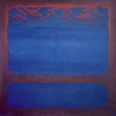 Ultramarine, 2001 Abstract Blue