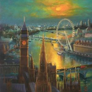 Waterloo Sunrise, 2015 by Lee Campbell
