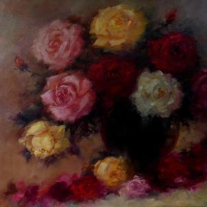 Winter Roses, 2018 by Lee Campbell