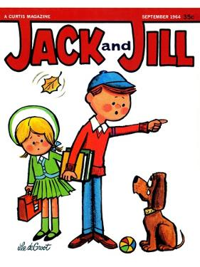 Go  Home! - Jack and Jill, September 1964 by Lee de Groot