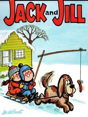 Hot Dog! - Jack and Jill, January 1965 by Lee de Groot