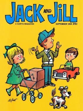 Safe Crossing - Jack and Jill, September 1965 by Lee de Groot