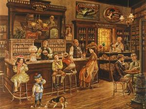 Turn of the Century Drug Store by Lee Dubin