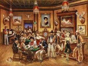 Western Saloon by Lee Dubin