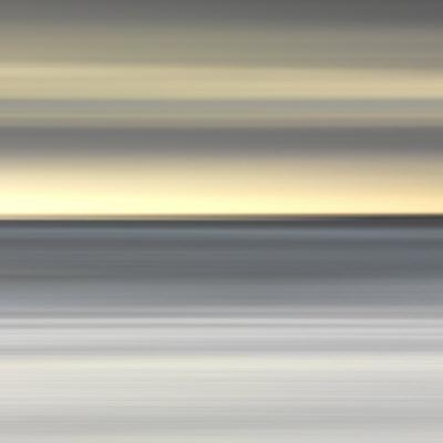 Abstract Image of the View from Alnmouth Beach to the North Sea, Alnmouth, England, UK by Lee Frost