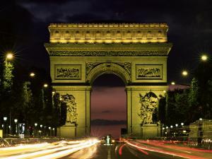 Arc De Triomphe, Paris, France by Lee Frost