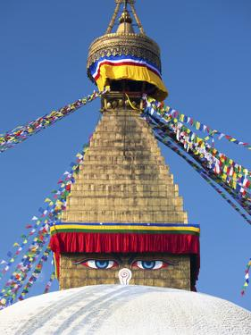 Bodhnath Stupa (Boudhanth) (Boudha), One of the Holiest Buddhist Sites in Kathmandu, UNESCO World H by Lee Frost