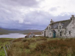 Deserted Croft, Isle of Lewis, Outer Hebrides, Scotland, United Kingdom by Lee Frost