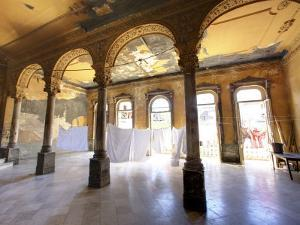 Interior of a Once Ornate and Grand Apartment Building, Now in a State of Disrepair by Lee Frost