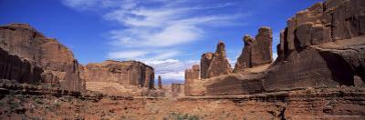 Park Avenue, Arches National Park, Moab, Utah, United States of America (U.S.A.), North America by Lee Frost