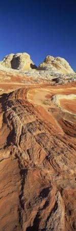 Sandstone Formations, White Pockets, Paria Plateau, Northern Arizona, USA by Lee Frost
