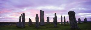 Standing Stones of Callanish, Isle of Lewis, Outer Hebrides, Scotland, United Kingdom, Europe by Lee Frost