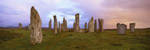 Stone Circle at Dawn, Callanish, Near Carloway, Isle of Lewis, Outer Hebrides, Scotland, UK by Lee Frost