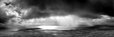 Storm over the Sea Between Eigg and the Mainland, Highland, Scotland, UK by Lee Frost