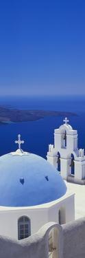 Thira, Santorini, Greek Islands, Europe by Lee Frost